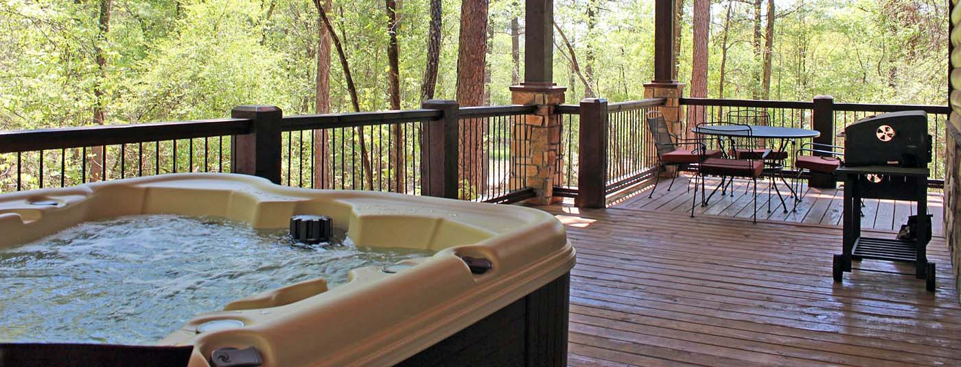 Honeymoon cabins built with <strong>Couples</strong> in mind